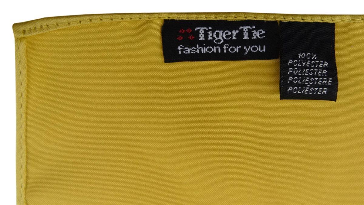 Größe 26 x 26 cm TigerTie Satin Einstecktuch in dunkellila einfarbig Uni