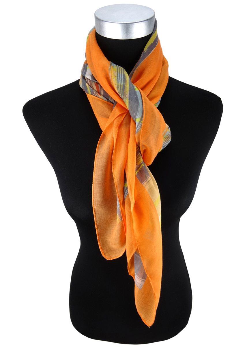 ohne Markenname sch/önes Einstecktuch lachs orange einfarbig Tuch Polyester