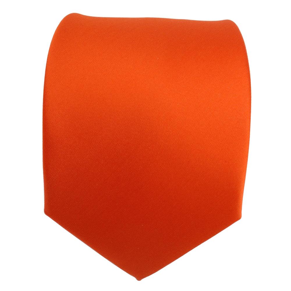 TigerTie Designer Krawatte in bordeauxviolett einfarbig Uni Tie Schlips